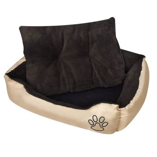 Dog Bed Beige and Brown XXL