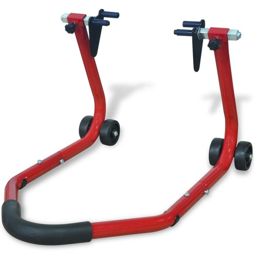 Motorcycle Front Stand Red
