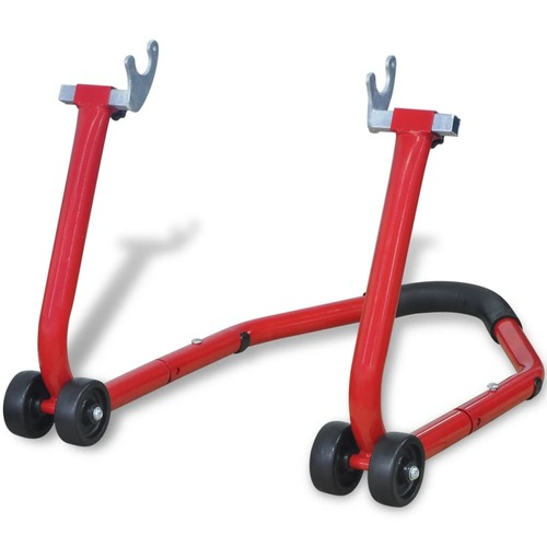 Motorcycle Rear Stand Red