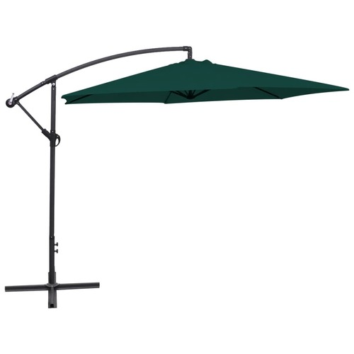 Cantilever Umbrella 3 m Green