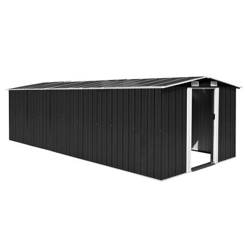 Garden Shed 257x597x178 cm Metal Anthracite (AU only)