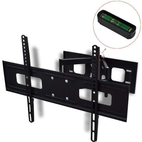 "Double-armed Tilt Swivel Wall TV Bracket 3D 600x400mm 37""-70"""