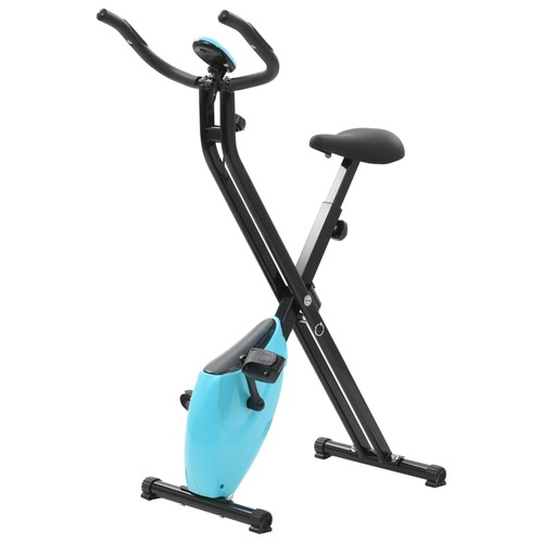 Folding Magnetic Exercise Bike Xbike 2.5 kg Black Blue