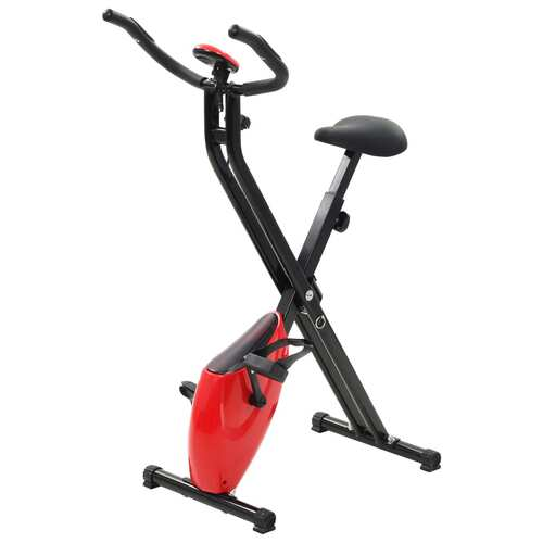 Folding Magnetic Exercise Bike Xbike 2.5 kg Black Red