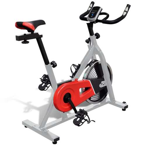 Training Exercise Bike with Pulse Sensors