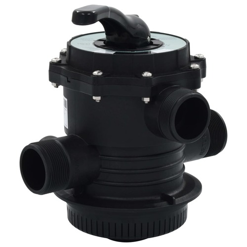 "Multiport Valve for Sand Filter ABS 1.5"" 6-way"